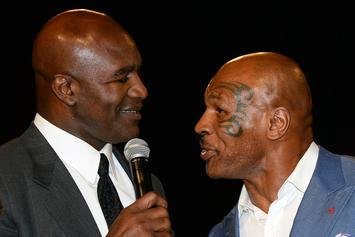 """Tyson Says Holyfield Fight Is On Once They """"Get Some Paperwork Done"""""""
