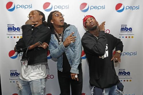Migos attends The National Black MBA Association Presents 2nd Annual Pepsi MBA Live at The Metropolitan on October 14, 2016 in New Orleans, Louisiana.