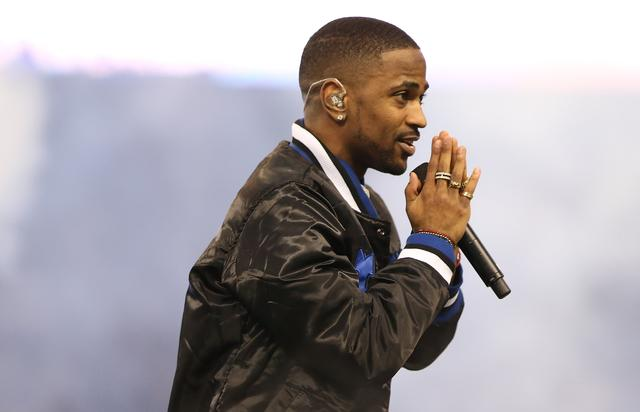 Big Sean at Philadelphia Eagles v Detroit Lions game