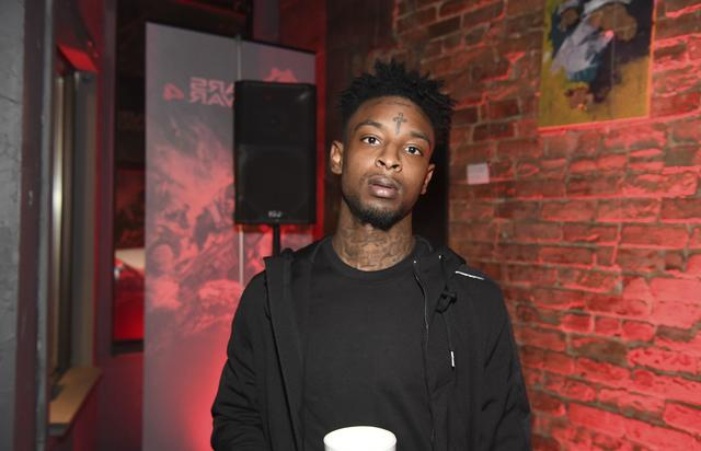 21 Savage at Xbox event in Atlanta