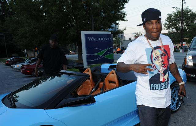 Jeezy in an Obama t-shirt 2008