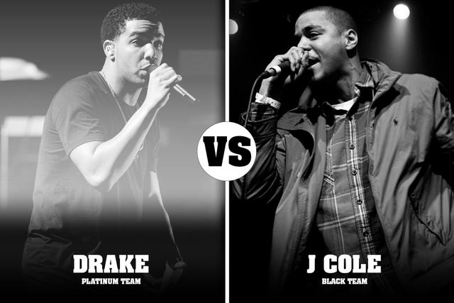 J Cole Eyebrows Vs Drakes Freestyle Matchups: WI...