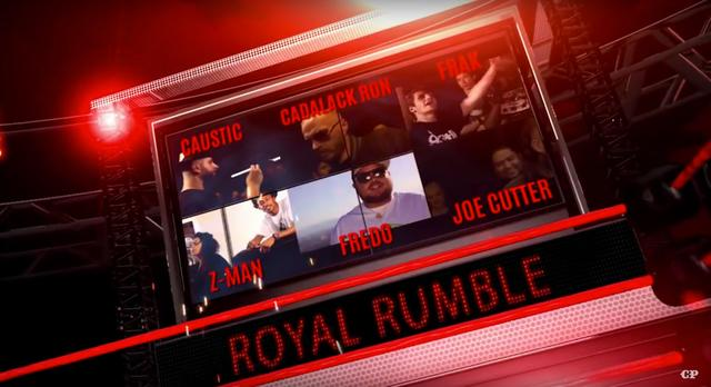 Battle of the Zae 5 Royal Rumble