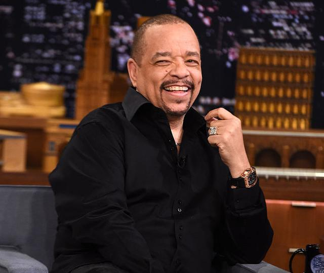 Ice T Visits 'The Tonight Show Starring Jimmy Fallon' at Rockefeller Center on February 25, 2015 in New York City.