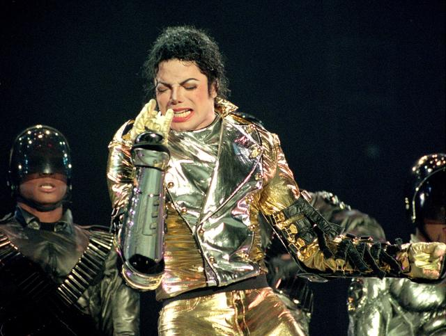 Michael Jackon on HIStory World Tour