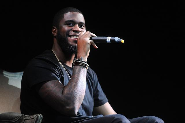 Big K.R.I.T. at CRWN event