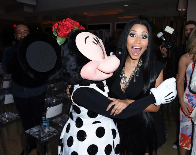 Nicki Minaj Minnie Mouse at Fashion LA Awards