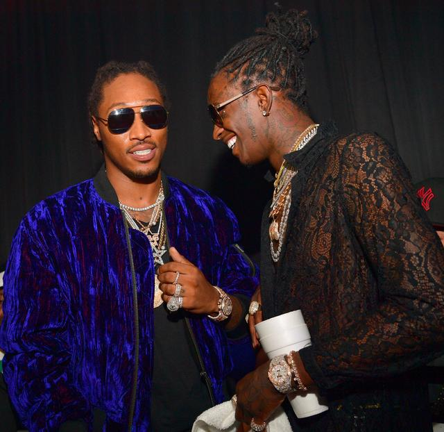Future and Young Thug together in Atlanta