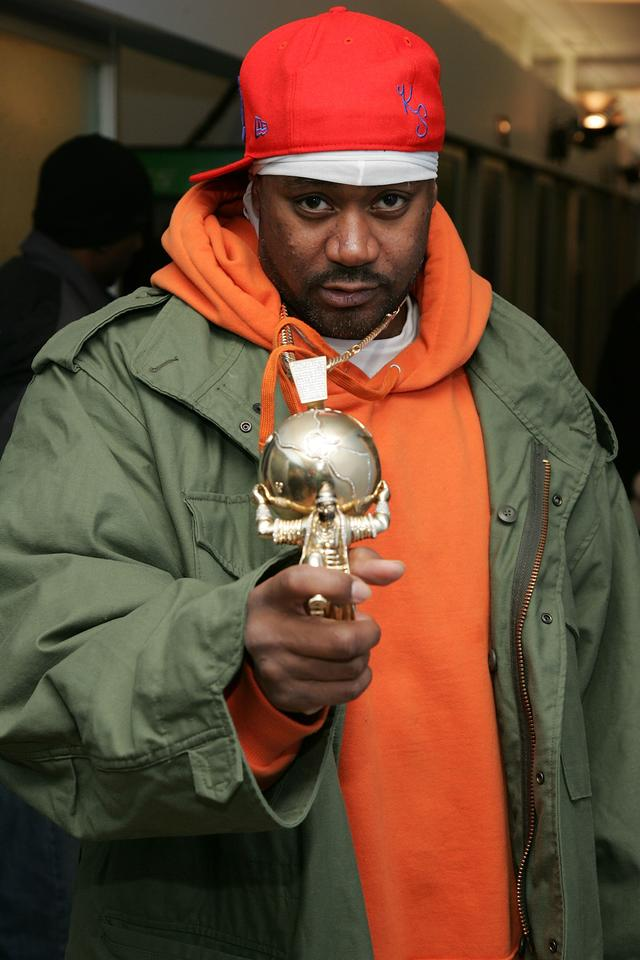 Ghostface Killah with all his chains