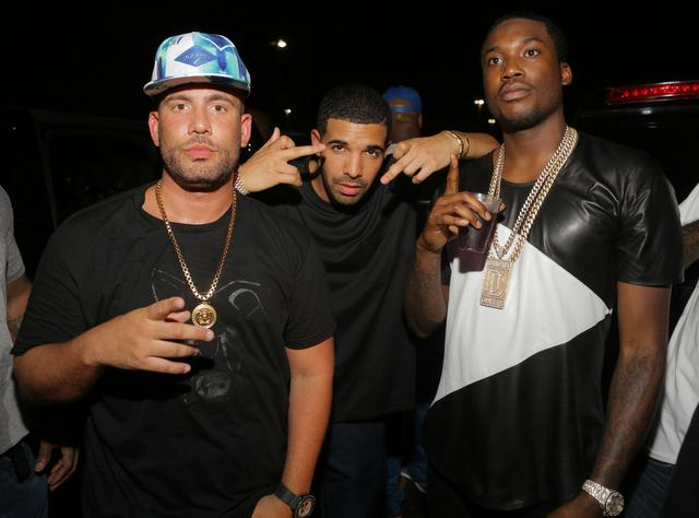 Meek Mill, Drake and DJ Drama