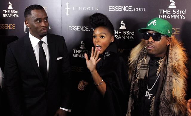 Diddy, Janelle Monae and Big Boi