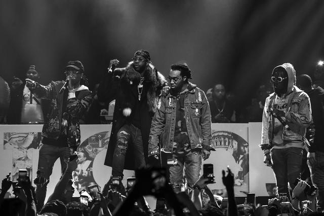 Migos and 2 Chainz in concert in ATL