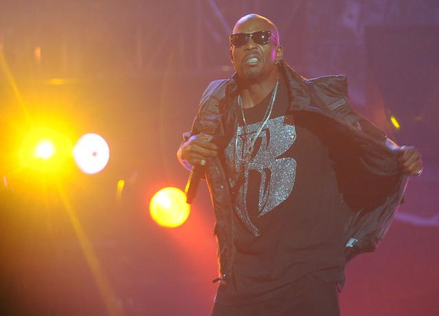 DMX performing at 2011 BET Awards