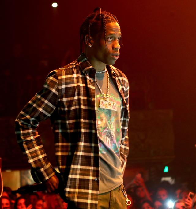 Travis Scott at bday party