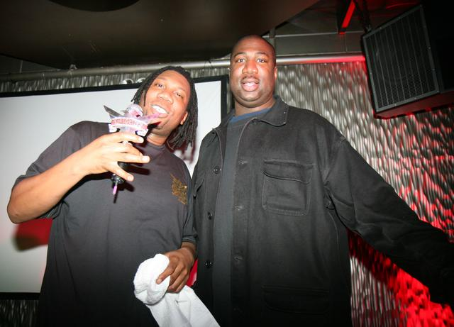 Brothers KRS One and Kenny Parker
