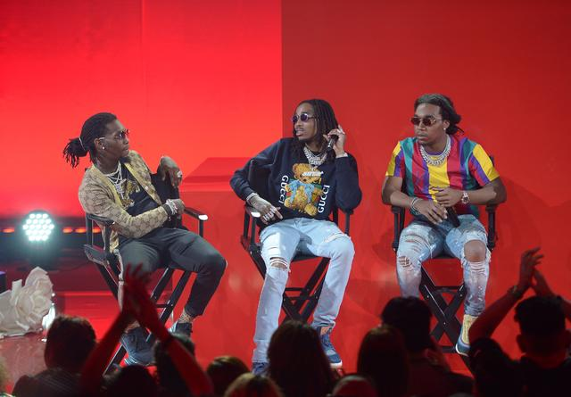 Migos at their iHeartRadio Album Release Party