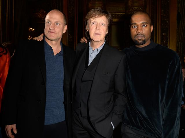 Woody Harrelson, Paul McCartney, Kanye West