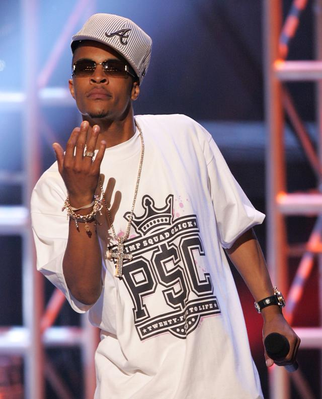 T.I. at BET Awards 2005