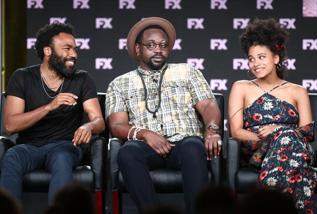 Atlanta cast including Donald Glover