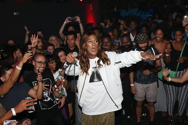 Mykki Blanco performing in LA