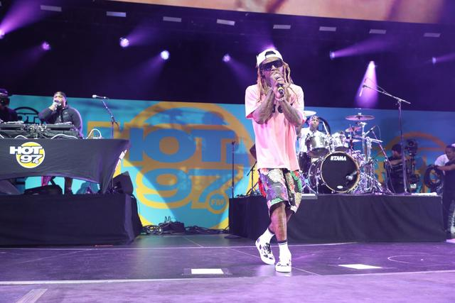 Lil Wayne at Summer Jam