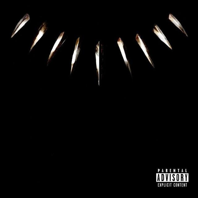 "Black Panther ""The Album"" cover"