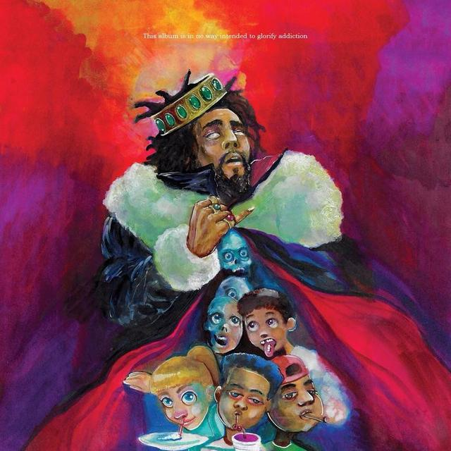 "J. Cole ""K.O.D."" album cover"