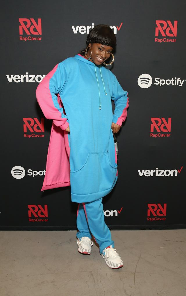 Tierra Whack attends Chance The Rapper to Headline Spotify's RapCaviar Live In Brooklyn in Partnership with Live Nation Urban and Verizon on September 29, 2018 at Ford Amphitheater at Coney Island Boardwalk in Brooklyn, New York.