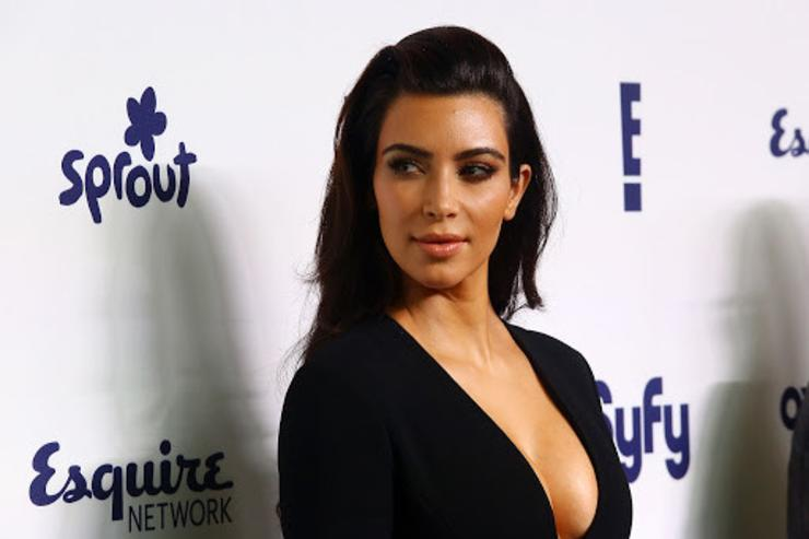Kim Kardashian Almost Forgot to Post This Bikini Selfie