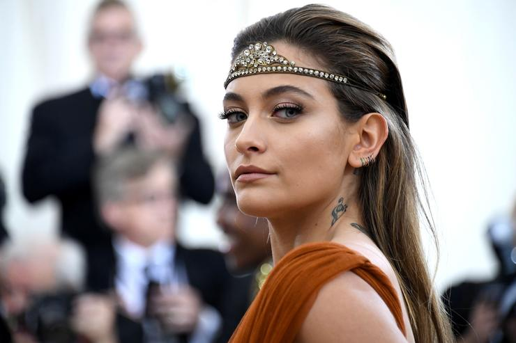 Paris Jackson at the Met Gala