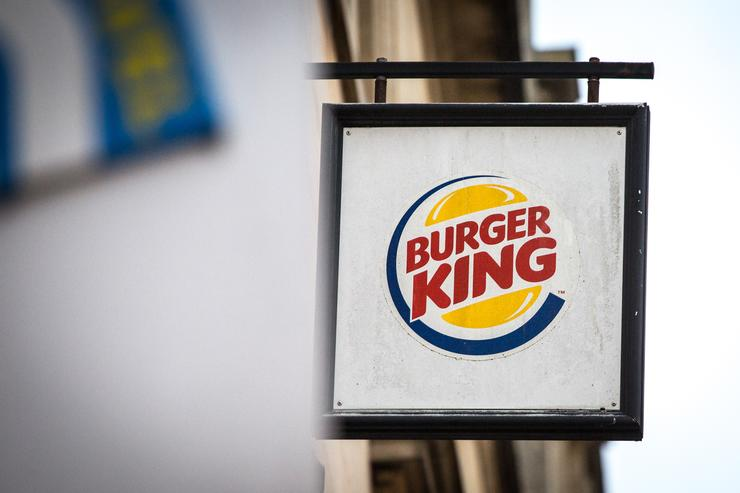 A branch of Burger King is pictured on February 19, 2018 in Bath, England