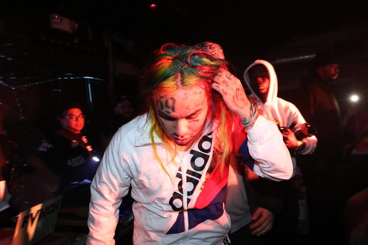 Rapper Tekashi 6ix9ine hospitalized after he was pistol-whipped, kidnapped, robbed, TMZ reports