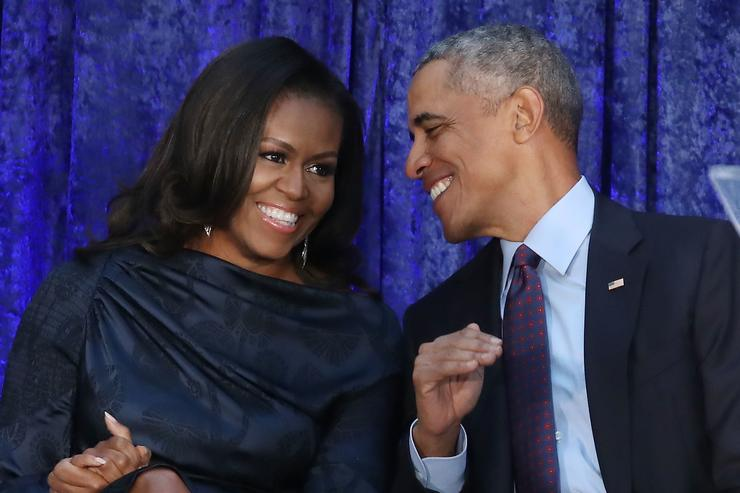 Barack Obama & Michelle Obama Dance at Beyoncé & Jay-Z Show