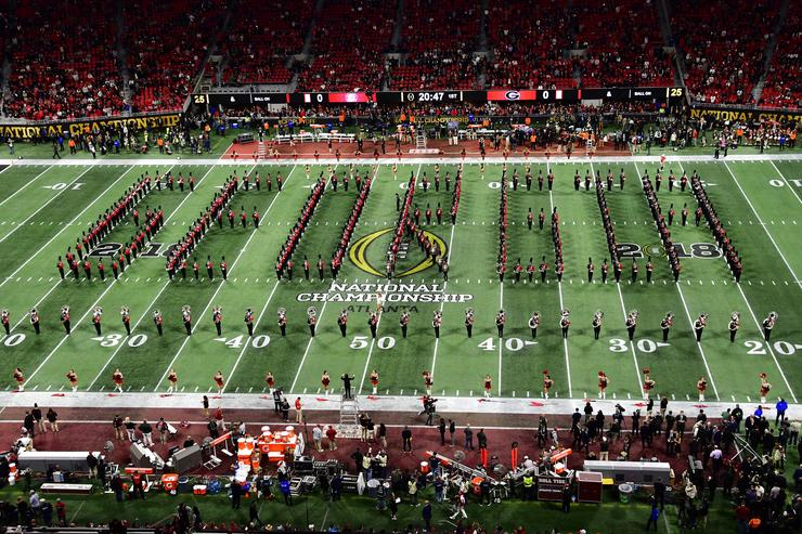 Georgia Marching Band Spells Racial Slur During Halftime Performance