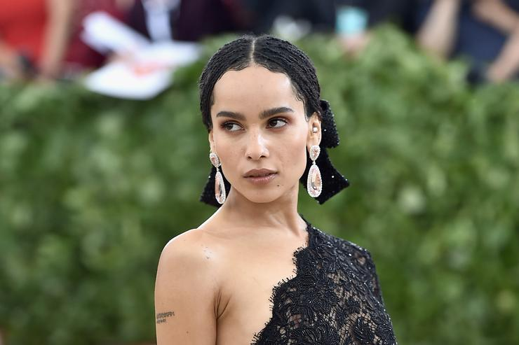 Whoa! Zoe Kravitz Says That Lily Allen Kiss Was NOT Consensual!