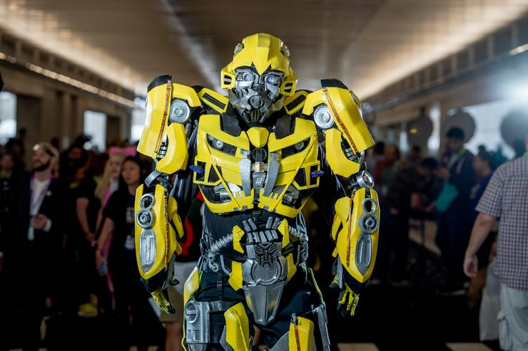 Travis Knight Couldn't Use One of the Transformers in Bumblebee