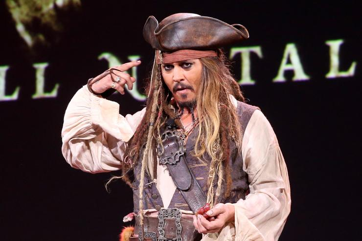 Disney confirms Johnny Depp won't be in 'Pirates' reboot