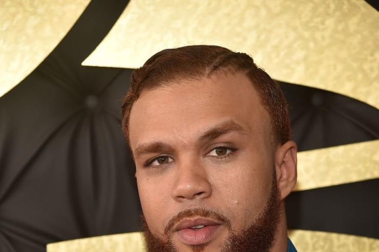 Singer Jidenna attends The 59th GRAMMY Awards at STAPLES Center on February 12, 2017 in Los Angeles, California.