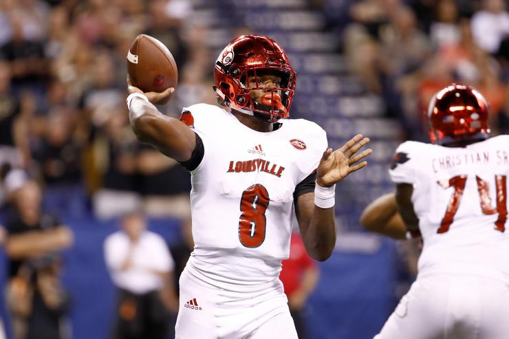 Lamar Jackson 2017 College Football