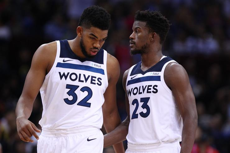Jimmy Butler x Karl-Anthony Towns