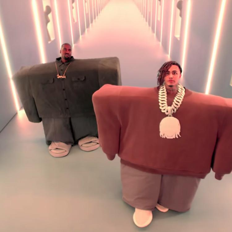 Kanye West Lil Pump Are Very Creepy In Their New Collab I