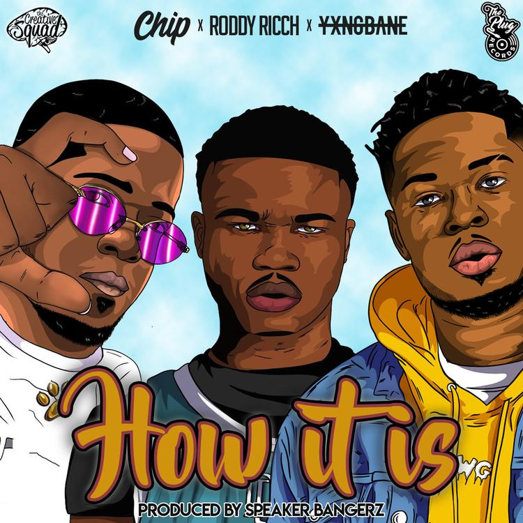 Roddy Ricch Mixes & Mingles With Chip & Yxng Bane On